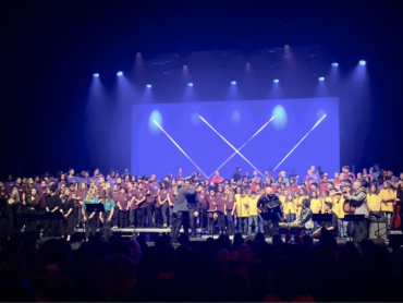 Orchestre à l'École association celebrates ten years at the Olympia