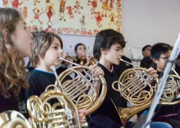 Avec orchestre à l'école, la joie d'apprendre