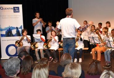 'Orchestre à l'école' rehearsal